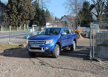 Unser Pickup im Fuhrpark von Berger GmbH Gartenlandschaftsbau