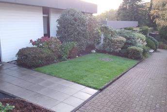 Umgestaltung eines Vorgarten