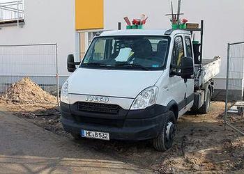 Unser Transporter im Fuhrpark von Berger GmbH Gartenlandschaftsbau